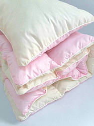 Комплект детский одеяло и подушка розовый ТМ TAG