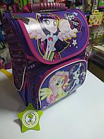 Красивий ранець для дівчинки фіолетовий з Little Pony