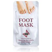 Отшелушивающая маска носки для ног Silver Dizao