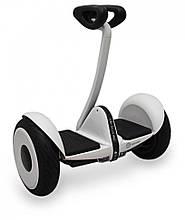 Сигвей Ninebot Pro белый со встроенной Bluetooth колонкой, гироскутер