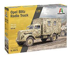 OPEL BLITZ RADIO TRUCK. Сборная модель военного автомобиля в масштабе 1/35. ITALERI 6575