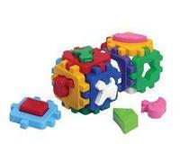 """Игрушка куб """"Умный малыш Веселая компания ТехноК"""", Технок, игрушки для малышей,сотер,деревянные"""
