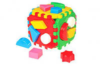 """Куб сортер """"Умный малыш ТехноК"""", Технок, игрушки для малышей,сотер,деревянные игрушки,деревянный конструктор"""