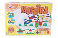 Мозаика (127 элементов), Технок, Мозаика для самых маленьких,Игра мозаика для детей,Мозаика детская,Напольная