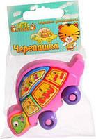 """Игрушка-пазл """"Черепашка"""", 8 элементов, Wader, обучающие игрушки,наборы для творчества,набор"""