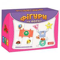 """Логические пазлы """"Фигуры"""", Artos games, обучающие игрушки,наборы для творчества,набор,viga toys"""