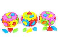 Сортер-шестиугольник, Kinderway, игрушки для малышей,сотер,деревянные игрушки,деревянный конструктор