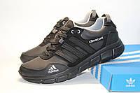 Мужские кожаные кроссовки в стиле adidas