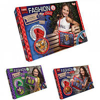 """Вышивка гладью """"Fashion Bag"""", Dankotoys, вязаные,набор для плетения,детские наборы творчества,наборы для"""