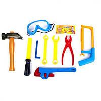 """Набор """"Юный Слесарь"""", 10 деталей, Kinderway, набор инструментов детских,игрушки для мальчиков,игровые наборы"""