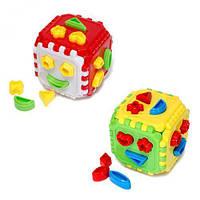 """Конструктор """"Пазлы - Куб"""", Орион, игрушки для малышей,сотер,деревянные игрушки,деревянный конструктор"""