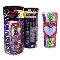 """Набор для креативного творчества """"CRYSTAL VASE"""", """"Ваза"""", crystal mosaic kids,выкладывание картин из"""
