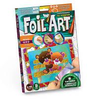 """Аппликация разноцветной фольгой """"FOIL ART"""", """"Мишки"""", Dankotoys, аппликация,оригами,товары для творчества"""