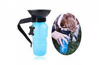 Бутылка питьевой воды PET BOTTLE.  Поилка для собаки. Дорожная поилка для питомцев., фото 1