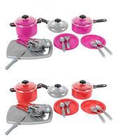 Набор посуды Iriska 3, Орион, игрушки для девочек,дитяча кухня,Игрушечный набор посуды,Набор посуды