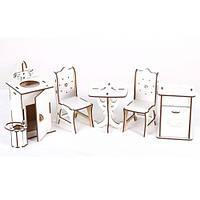 """Набор деревянной мебели """"Кухня большая"""" Б44б"""