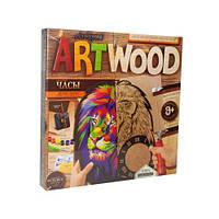 """Набор для выпиливания """"ARTWOOD: Часы своими руками"""" LBZ-01-01"""