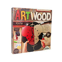 """Набор для выпиливания """"ARTWOOD: Часы своими руками"""" LBZ-01-05"""