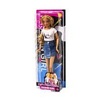 """Кукла """"Defa Lucy"""", в белой футболке и юбке 8400"""