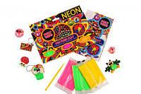 """Полимерная глина """"Neon"""", Окто, наборы для творчества,детский пластилин,тесто для лепки,лепка"""