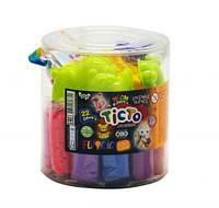 """Набор для лепки """"Fluoric"""", 22 цвета (рус), Dankotoys, наборы для творчества,детский пластилин,тесто для лепки"""