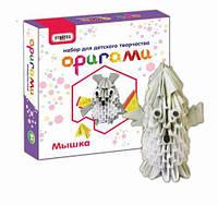 """Набор для творчества """"Оригами: Мышка """", Strateg, аппликация,оригами,товары для творчества,набор"""