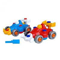 Детский конструктор с отверткой Машинка, Колорпласт, детские конструкторы,конструктор для