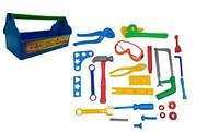 Набор Юный Слесарь синий., Kinderway, набор инструментов детских,игрушки для мальчиков,игровые наборы
