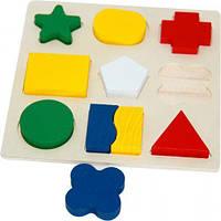"""Игра """"Геометрика: Фигуры"""", деревянная, Руди, игрушки для малышей,сотер,деревянные игрушки"""