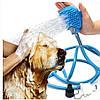 Перчатка для мойки животных Pet washer. Перчатка для купания питомцев.