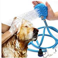 Перчатка для мойки животных Pet washer. Перчатка для купания питомцев., фото 1