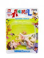 """Игровые фигурки """"DINGUA. Ферма"""" (вид 2), мягкие игрушки,животные резиновые,игрушка мир животных,игрушки"""