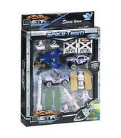 """Набор спецтехники """"Space Team: Ракета"""", FEISU, металлические модели,машинка,игрушки для мальчиков,машина"""