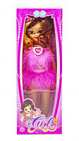 """Музыкальная кукла """"Модница"""" (в розовом платье) 88018-14"""