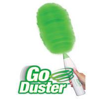 Вращающаяся электрическая щетка веник для уборки Go Duster (Реплика), фото 1