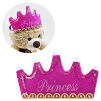 """Обруч """"Принцесса"""" розовый, карнавальный костюм,маскарадные костюмы,детские карнавальные костюмы,новогодний"""