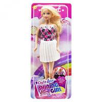 Кукла Defa Lucy Shining Girl, белая юбка, DEFA, куклы,игрушки для девочек,детские игрушки