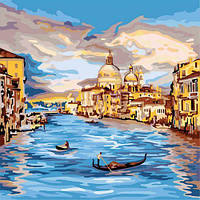 """Картина по номерам """"Прогулка по реке"""", картины по номерам,рисование по номерам,живопись по номерам,раскраски с"""