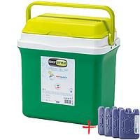 Автохолодильник Giostyle Bravo 12V 21 л (термобокс - мини холодильник в машину)