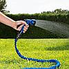 Растяжной чудо шланг для полива с распылителем X-hose 45 метров (150 fut) (Реплика), фото 2