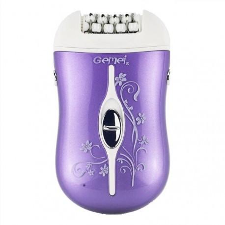 Женский эпилятор для тела с сменными насадками Gemei GM 3055 (Реплика)