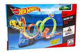 Hot Wheels Трек HW03 | 4 кольца 360 градусов
