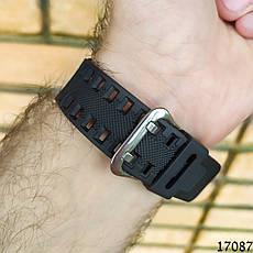 Мужские наручные часы черные в стиле Casio G-Shock с датой. Годинник чоловічий, фото 2