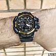 Мужские наручные часы черные в стиле Casio G-Shock с датой. Годинник чоловічий, фото 6