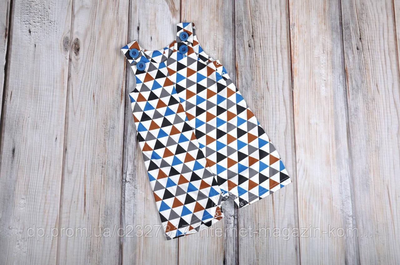 Ромпер Барселона MagBaby треугольники