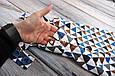 Ромпер Барселона MagBaby треугольники, фото 5
