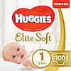 Підгузники Huggies Elite Soft Newborn 1 (2-5 кг), 100 шт
