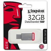 USB флеш накопитель Kingston 32GB DT50 USB 3.1 (DT50/32GB)