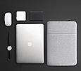 Чехол для Macbook Pro 15,4''/16'' Темно-серый, фото 6