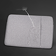 Чехол для Macbook Pro 15,4''/16'' Темно-серый, фото 4